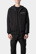 Zip tech sweat jacket