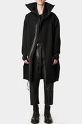 Niløs | High neck brushed coat