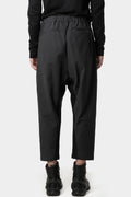 Belted cropped technical pants