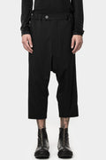 10SEI0OTTO | Cropped drop crotch pants
