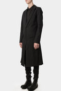 Metal wire long coat