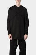 Rick Owens DRKSHDW | Crater sweater tunic, Pentagram