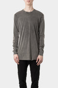 LS1B - Long sleeve tee, Acid grey