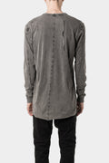 11 by Boris Bidjan Saberi - LS1B - Long sleeve tee, Acid grey