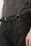 WERKSCHWARZ - WERK Leather belt