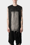 Rick Owens DRKSHDW | Embroidered pentagram top