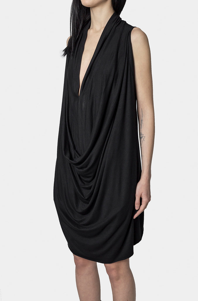 DAVID`S ROAD | Long front drape top