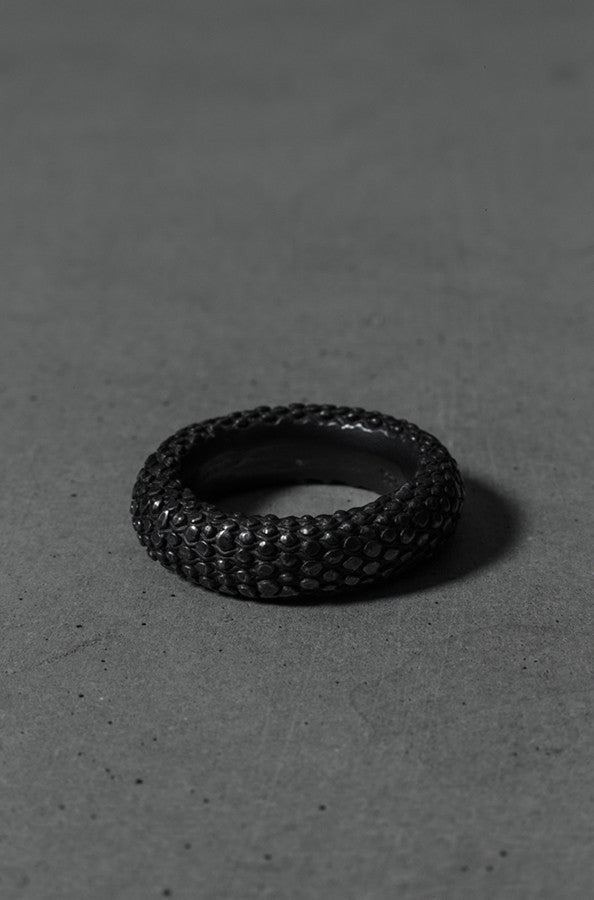 Kjeld Jewelry Gussev oxidized silver ring
