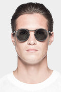 Stainless steel sunglasses, GL0003