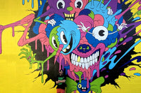 HOW I PAINTED MY MURAL AT POW!WOW!