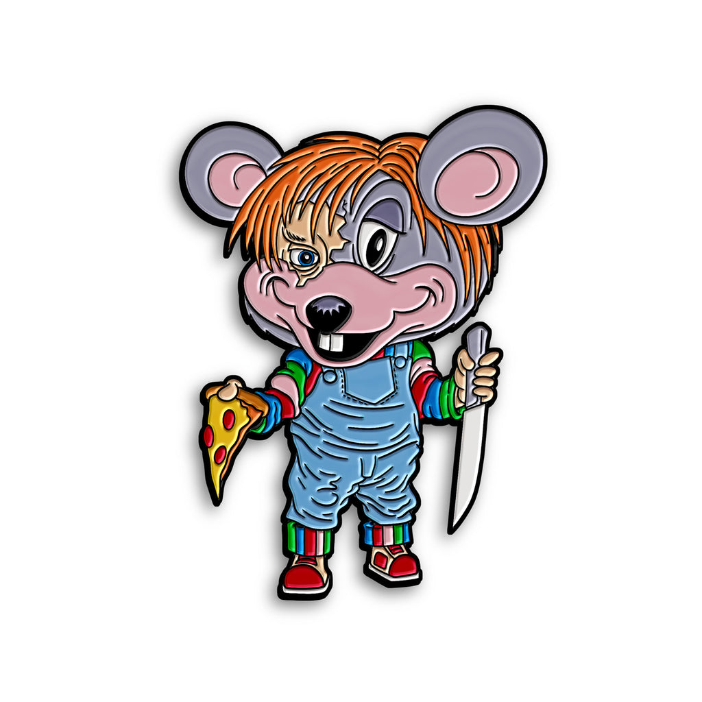 """CHUCKY CHEESE"" PIN"
