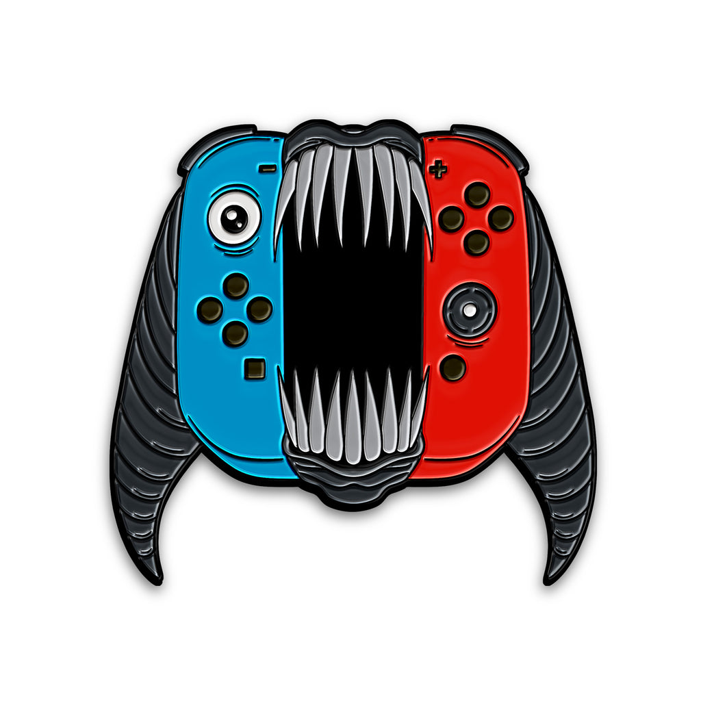 """CONSOLE WARRIORS: SWITCH"" PIN"