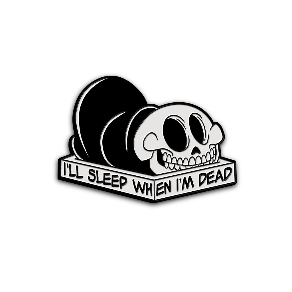 """DEAD ASLEEP"" PIN"