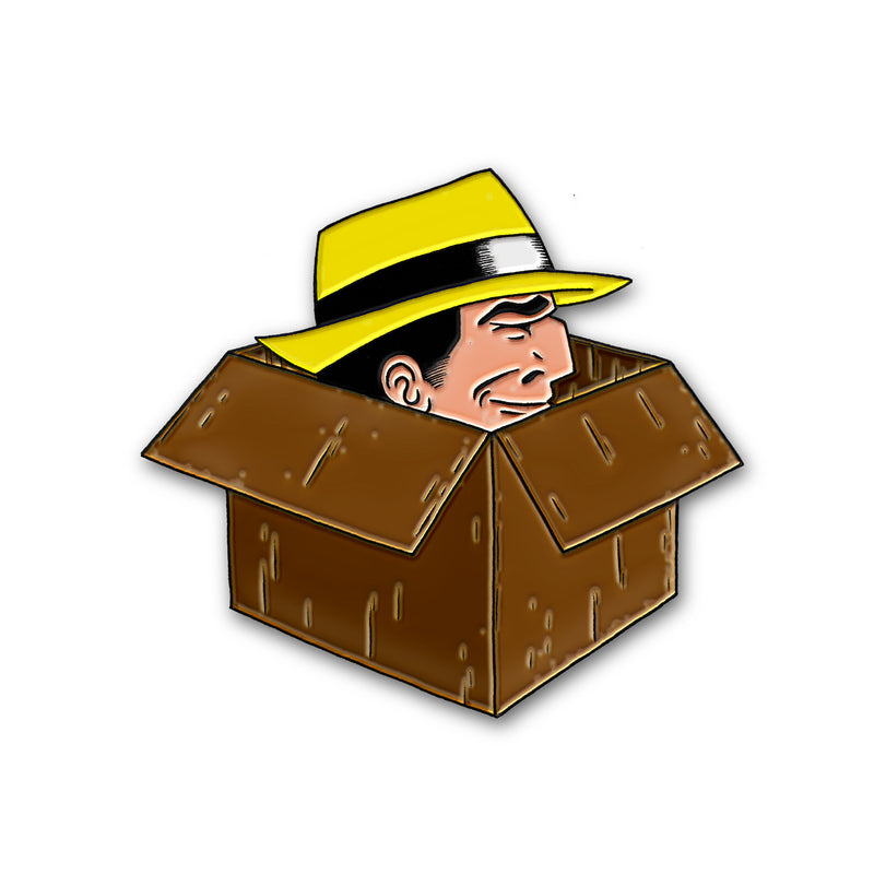 """DICK IN A BOX"" PIN"