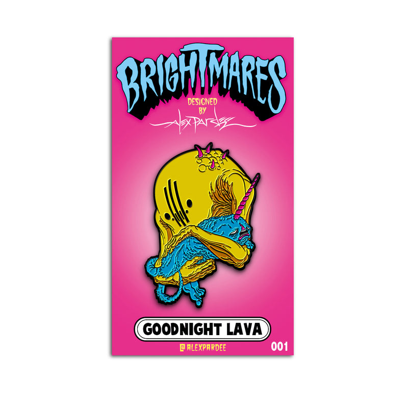 """GOODNIGHT LAVA"" PIN"