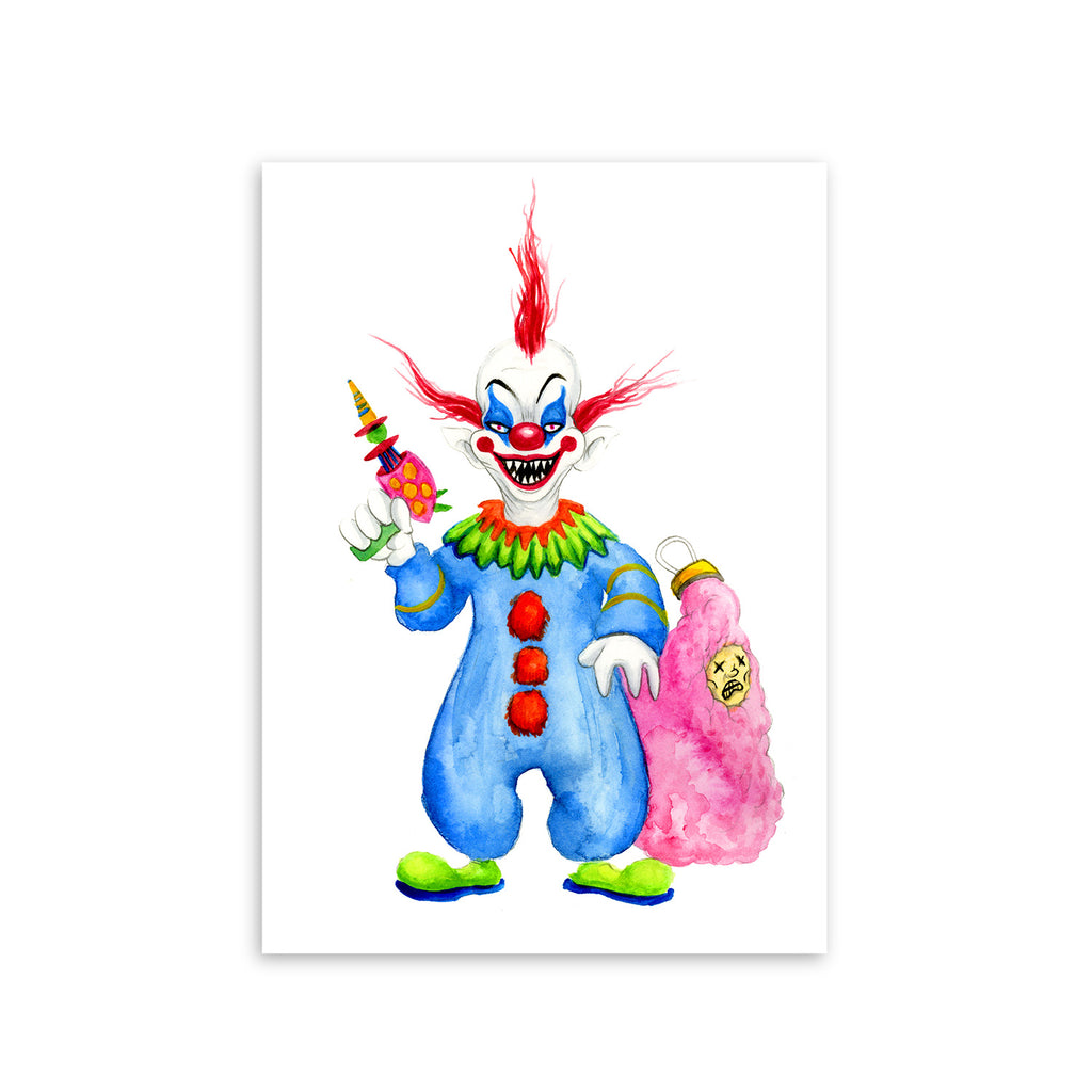 """KILLER KLOWN"" PRINT"