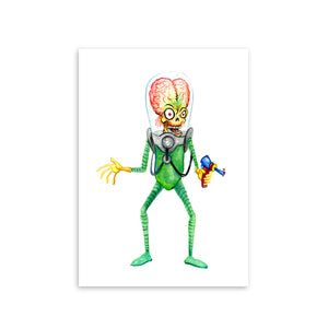 """MARS ATTACKS"" PRINT"