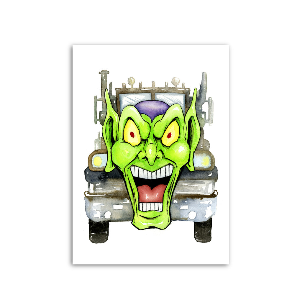 """MAXIMUM OVERDRIVE"" PRINT"