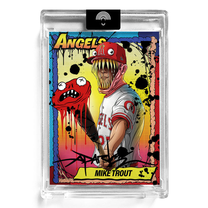 """TOPPS P70 MIKE TROUT"" HAND EMBELLISHED - Edition of 10"