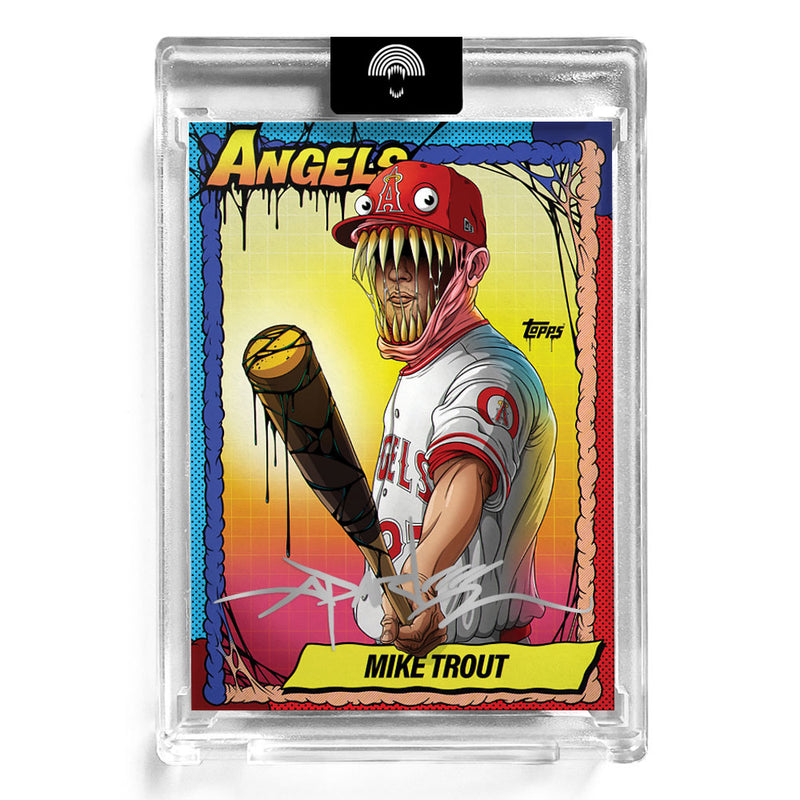 """TOPPS P70 MIKE TROUT"" AUTOGRAPHED - Edition of 70"
