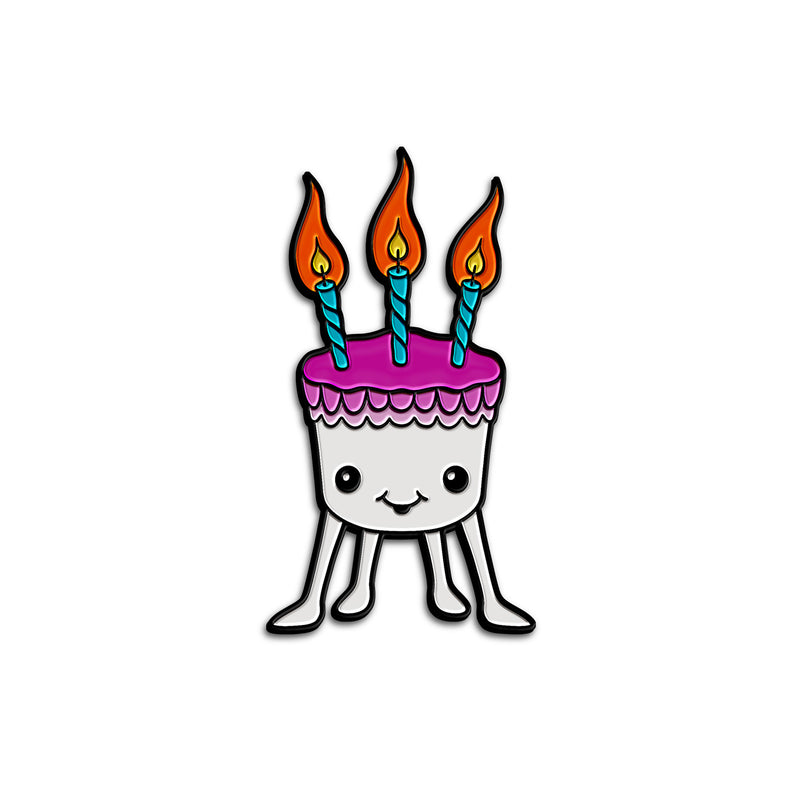 """PINFOLK: PET CAKE"" PIN"