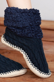 Navy Slippers - Lily Wings - 3