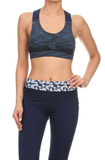 Womens Double Straps Activewear Bras - Lily Wings - 2