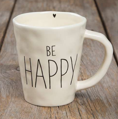 """Be Happy"" Be Mugs - Lily Wings"