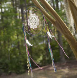 15-Inch Multicolor Dream Catcher - Lily Wings - 1