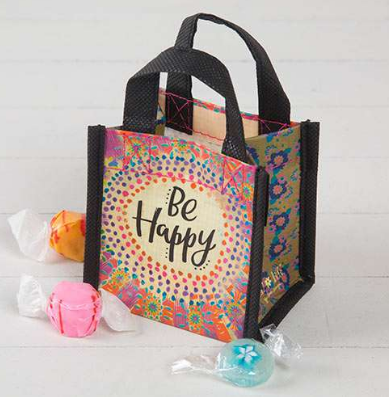 """Be Happy"" Tiny Gift Bag - Lily Wings"
