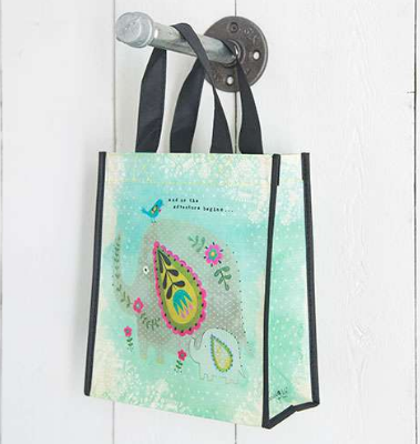 """Adventure Begins"" Medium Gift Bag - Lily Wings"