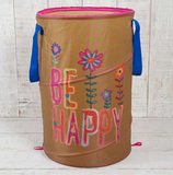 Be Happy Laundry Hamper - Lily Wings - 2