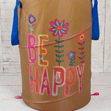Be Happy Laundry Hamper - Lily Wings - 3