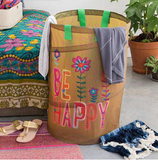 Be Happy Laundry Hamper - Lily Wings - 1