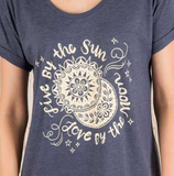 "Indigo ""Live by the Sun"" Night Shirt - Lily Wings - 2"