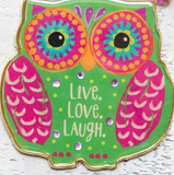 Glitter & Gold Key Chains Live Love Laugh - Lily Wings - 2