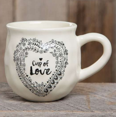 Happy Mug with Cup of Love - Lily Wings - 1