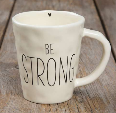 """Be Strong"" Be Mugs - Lily Wings"