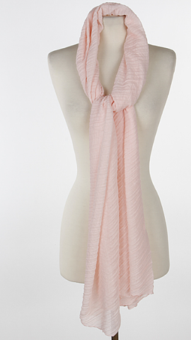 Peach scarf - Lily Wings