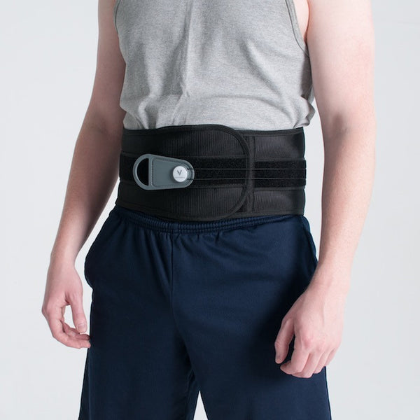 man in Vertebral Brace