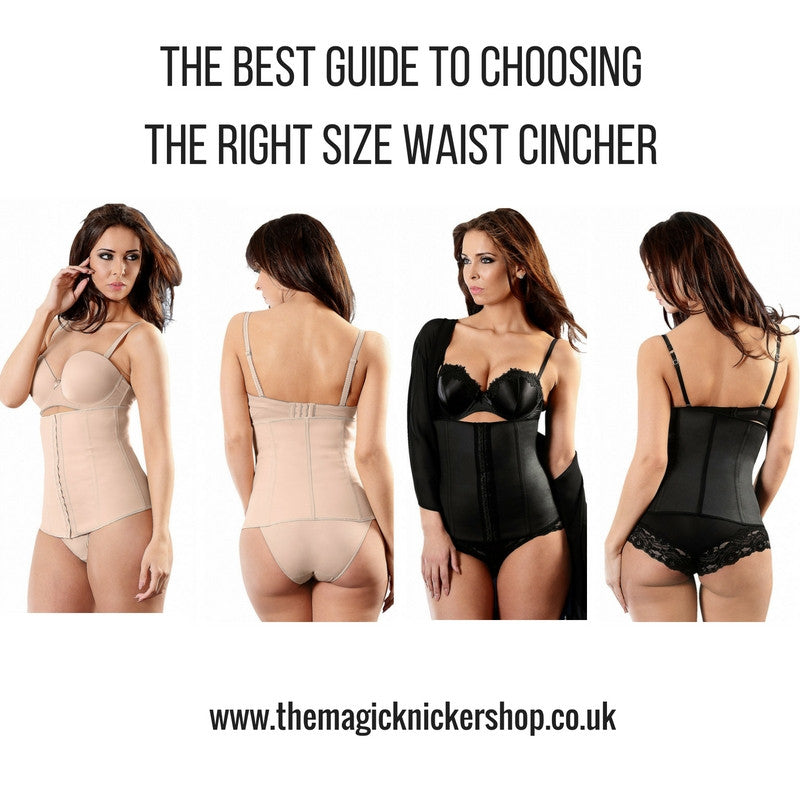 Esbelt Waist Cincher Size Chart and Size Guide