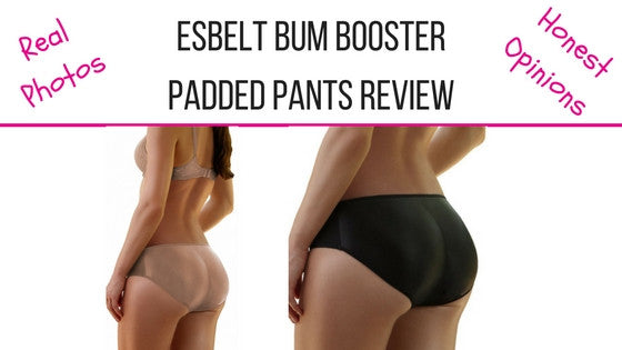 esbelt better bum booster padded pants review ES501