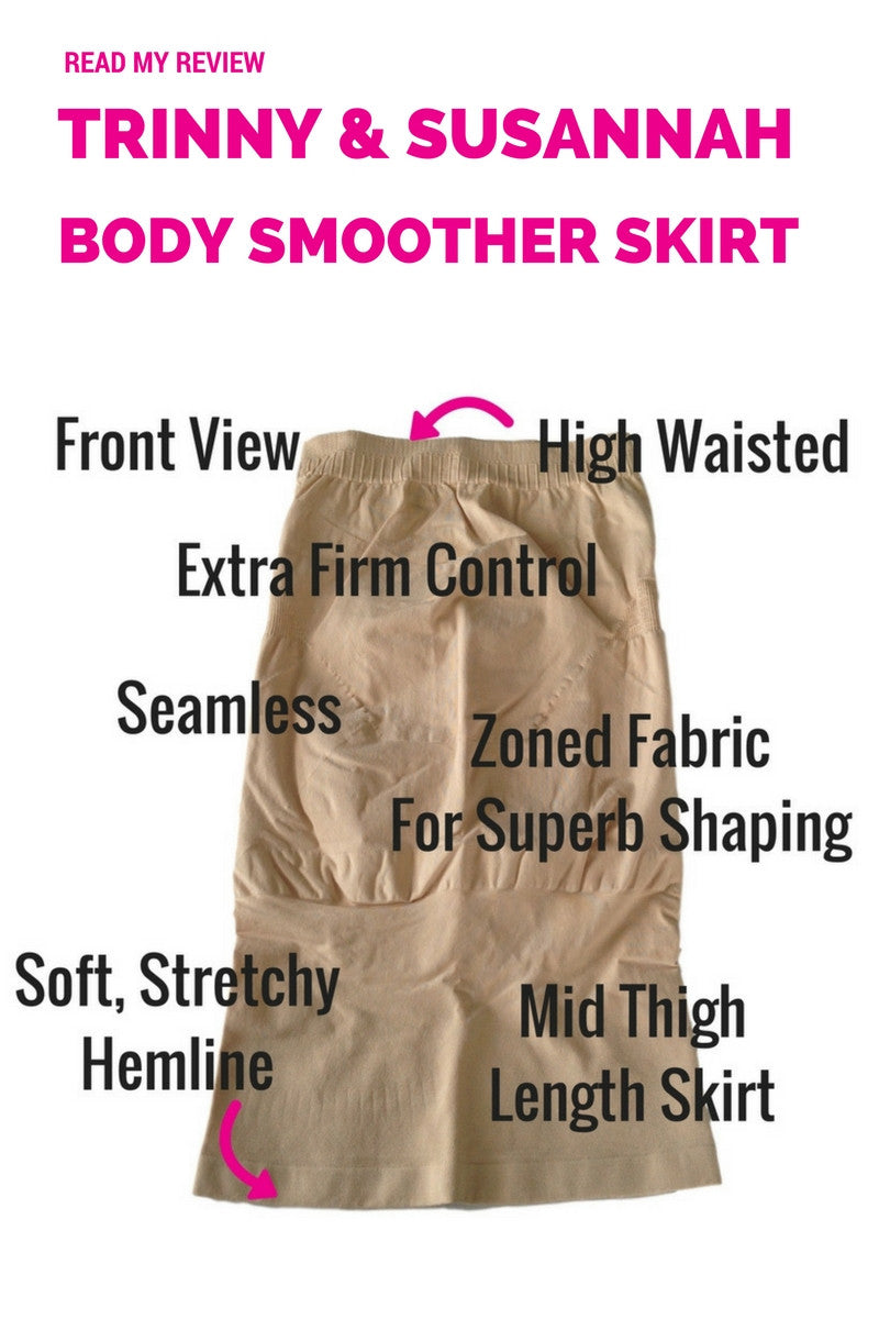 Trinny and Susannah Magic Body Smoother Skirt Slip - 52618 - Shapewear Review
