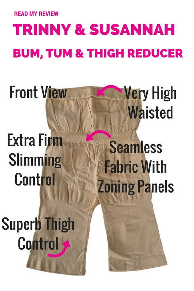 Trinny and Susannah The Magic Bum Tum & Thigh Reducer - 52518 - Shapewear Review