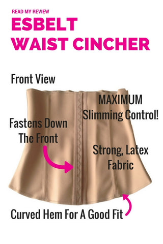 Esbelt Waist Cincher ES404 - The Maximum Control Slimming Corset - Shapewear Review