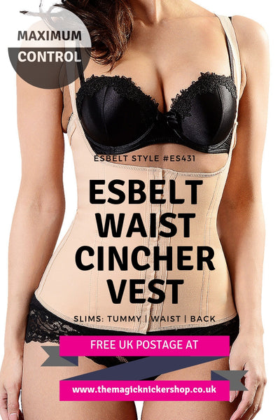 Esbelt Waist Cincher Vest Maximum Control Shapewear Free UK Postage