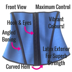Esbelt Waist Training Waist Cincher - Front View