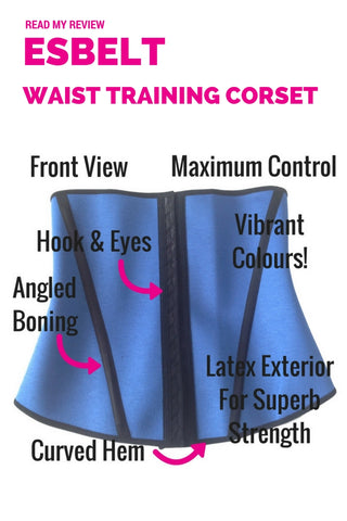 Esbelt Waist Training Waist Cincher Corset ES062 - Shapewear Review