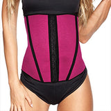Esbelt Boned Workout Waist Cincher In Pink