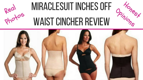 miraclesuit inches off boned waist cincher review 2615